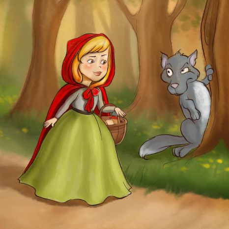 Little Red Riding Hood - Children Story by Tales with GiGi